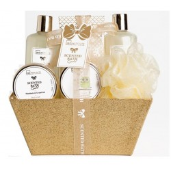 BATH GOLD BASKET 6 PCS
